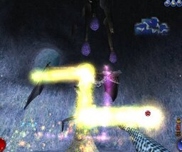 Screenshot: Spellcasting in Arx Fatalis